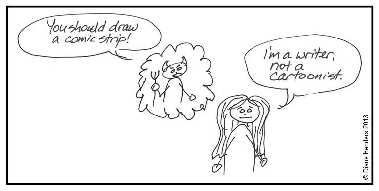 not a cartoonist