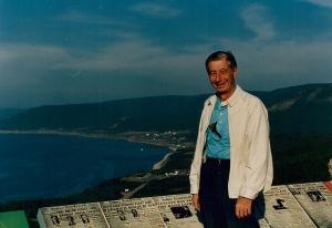 Dad at Sydney, on Cape Breton Island, Nova Scotia