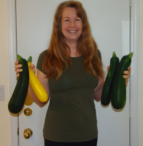 Just as plump and perky as ever (the zukes, not me).