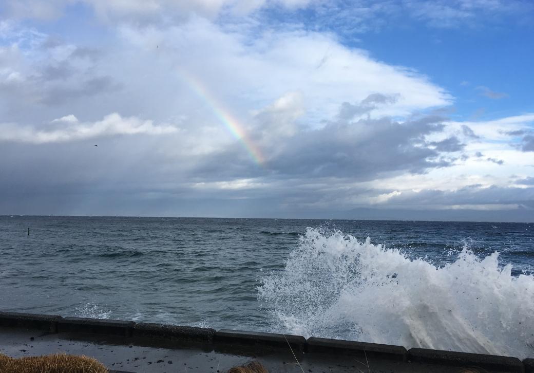 rainbow-wave